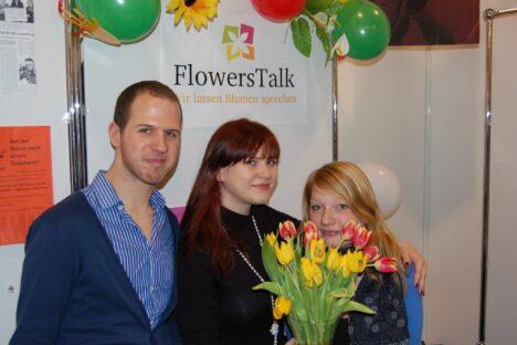 Das Team FlowersTalk
