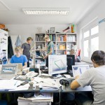 Erstbüro in der HTW-Gründungsschmiede