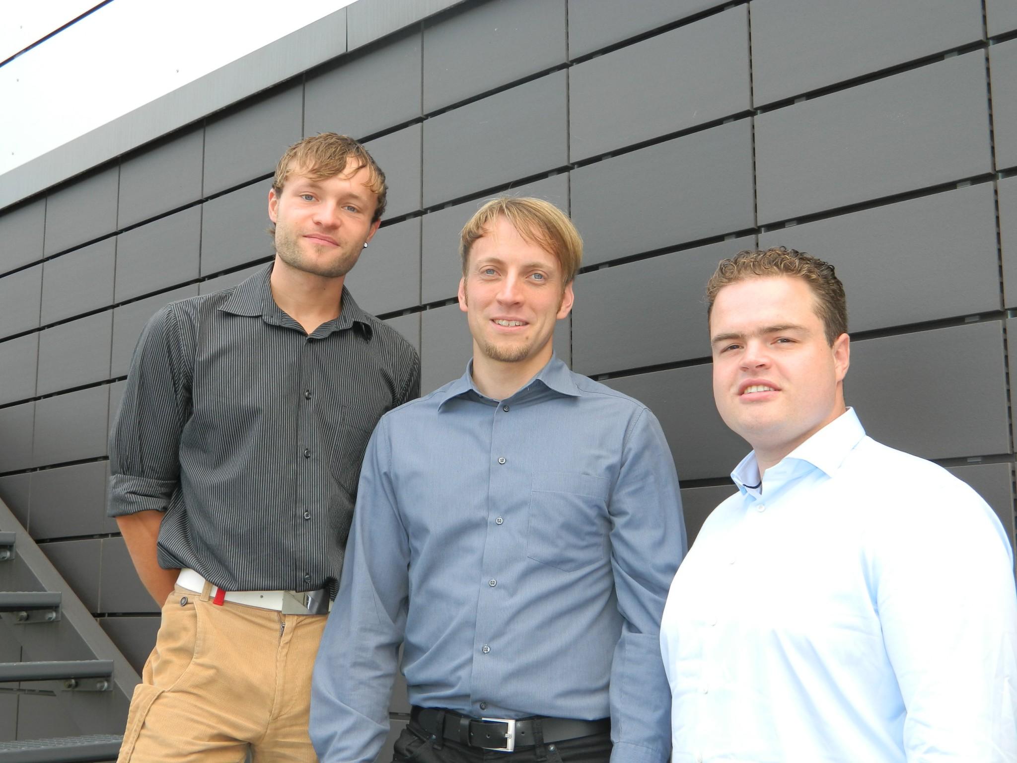Jungunternehmer des Saxray-Teams
