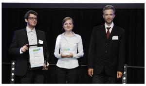 Prämierung Apus Systems beim Businessplanwettbewerb futureSAX