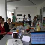 Die Teilnehmer in individuellen Feedbackgesprächen