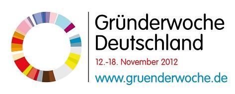 Logo Gründerwoche Deutschland 2012