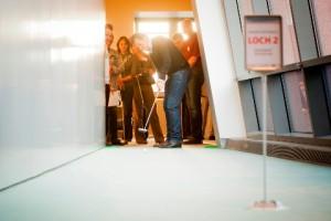 Unternehmer und Nachfolger - lockeres Kennenlernen beim Bürogolf