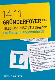 Gruenderfoyer mit Florian Langenscheidt