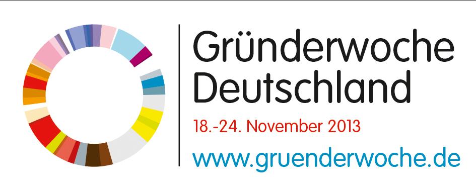 Logo Gruenderwoche Deutschland