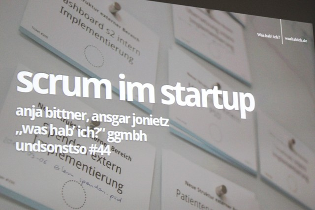 Gruendertreff trifft undsonstso - Scrum im Start-up_1