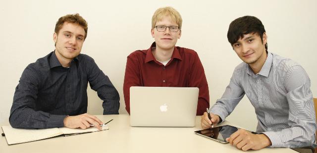 Das Team hinter Arundo (v.l.n.r.): Jacob Focke, Florian Berninger und René Phan
