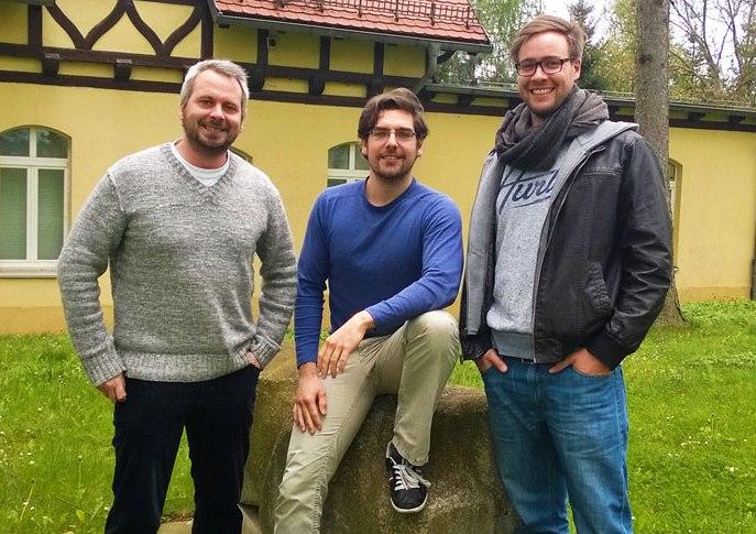 Die Gründer von SEMKNOX (v.li.):  (Foto: SEMNOX GmbH)