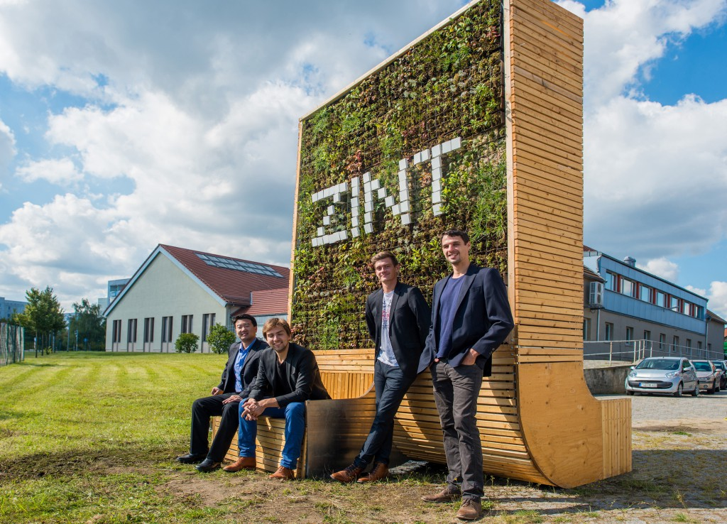 Green City Solutions mit ihrem City Tree (Foto: Green City Solutions)