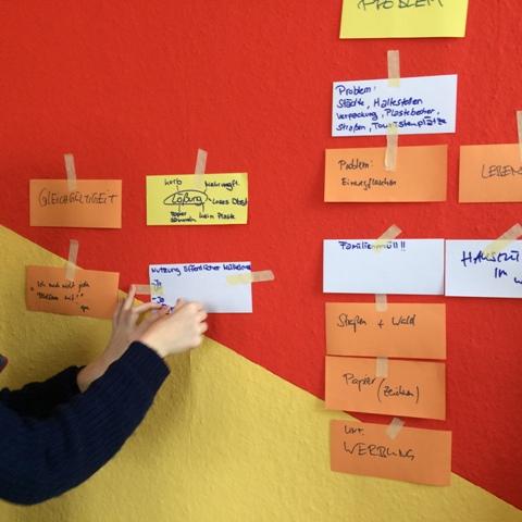 Design Thinking (Foto: Design for Change Germany)