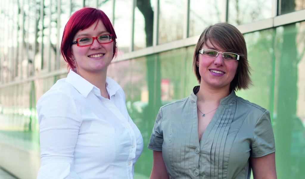 Die Torux-Gründerinnen ( v.l.): Rebekka Müller & Judith Schöpke (Foto: Torux)