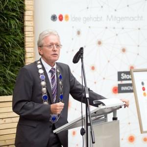 Prof Stenzel, Rektor der HTW dresden (Foto: Deutschland – Land der Ideen/ Willem gr. Darrelman)