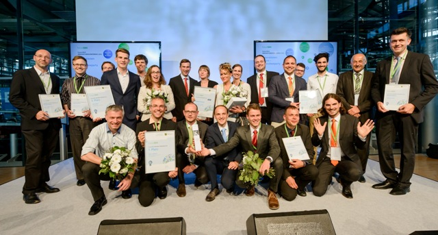 Die Nominierten und Preisträger des futureSAX Ideenwettbewerbs 2016 (Foto: Frank Grätz)