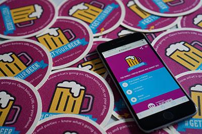 Mit LineUpr kann sich jeder ganz unkompliziert selbst eine Event-App erstellen. (Foto: LineUpr)