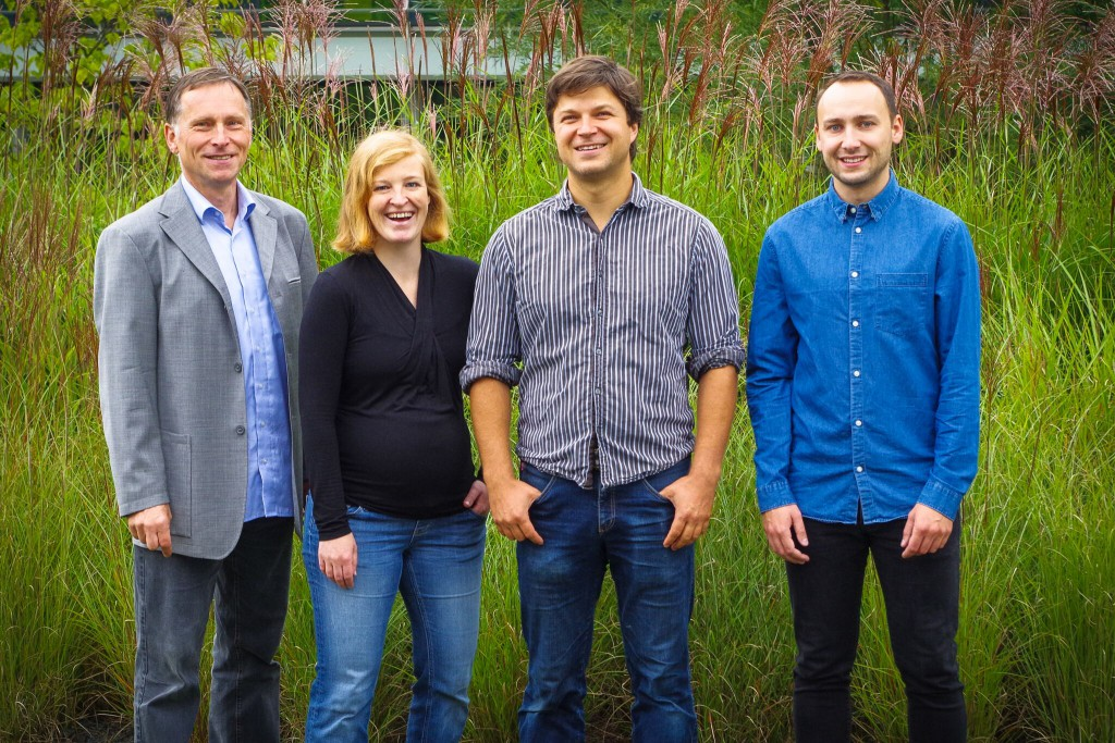 Die Ärzte für Maschinen und ihr Mentor: das Team von Conimon