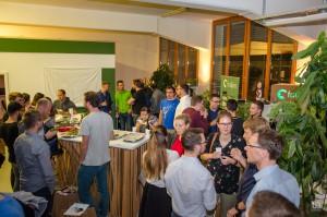 Fullhouse beim Meetup im fodjan-Dschungel-Büro