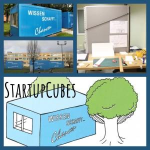 Die StartupCubes am HSZ und der SLUB