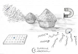 Die erste Skizze der Idee von Prof. Yixin Zhang
