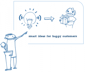 smart ideas happy customers pitch