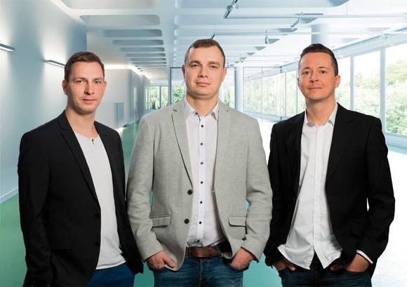 OnFire digital - v.l. Steve Stockmeier, Jens Piesker, Steve Lohse Quelle: OnFire digital