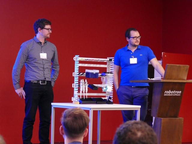 Better Basics Laborbedarf im Pitch (Foto: Frauke Posselt, dresden|exists)