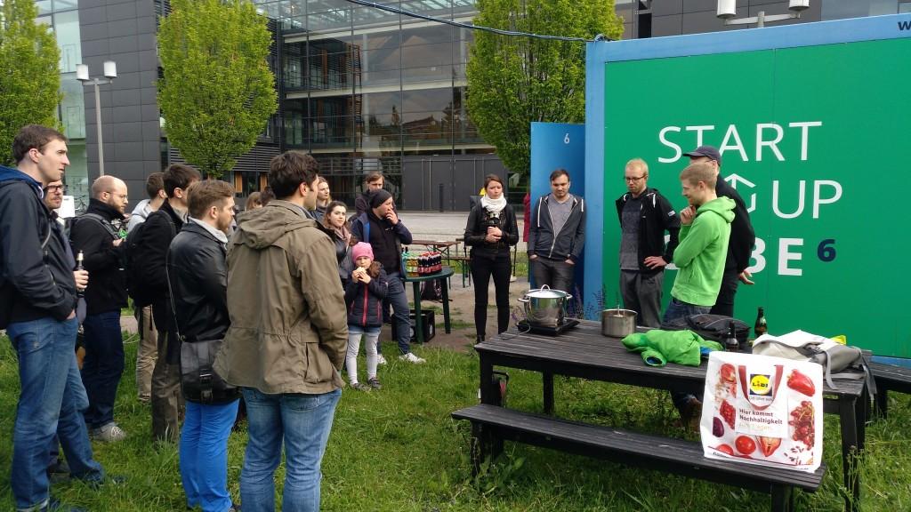 BBCube Talks an den Startup Cubes (Foto: dresden|exists)