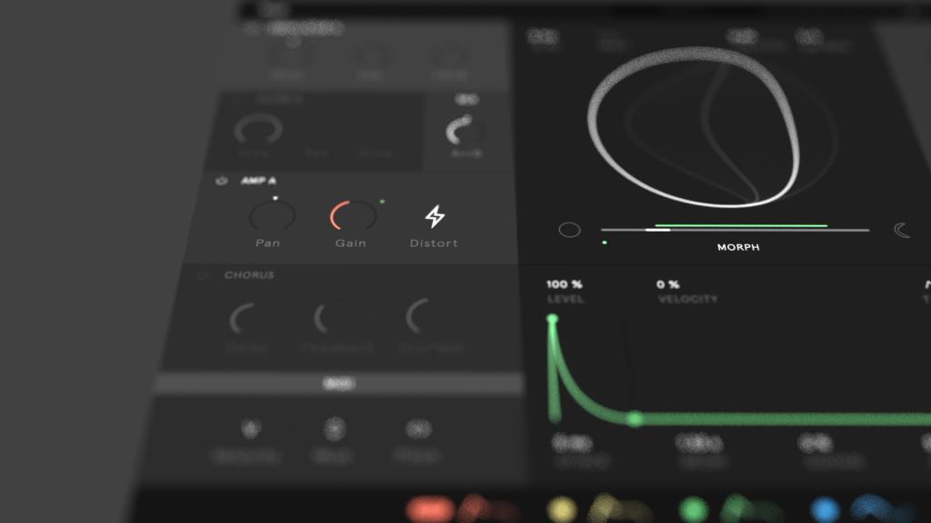 Sounddesign auf Basis von geometrischen Formen - der Software-Synthesizer Nylon (Foto: Wave Casual)