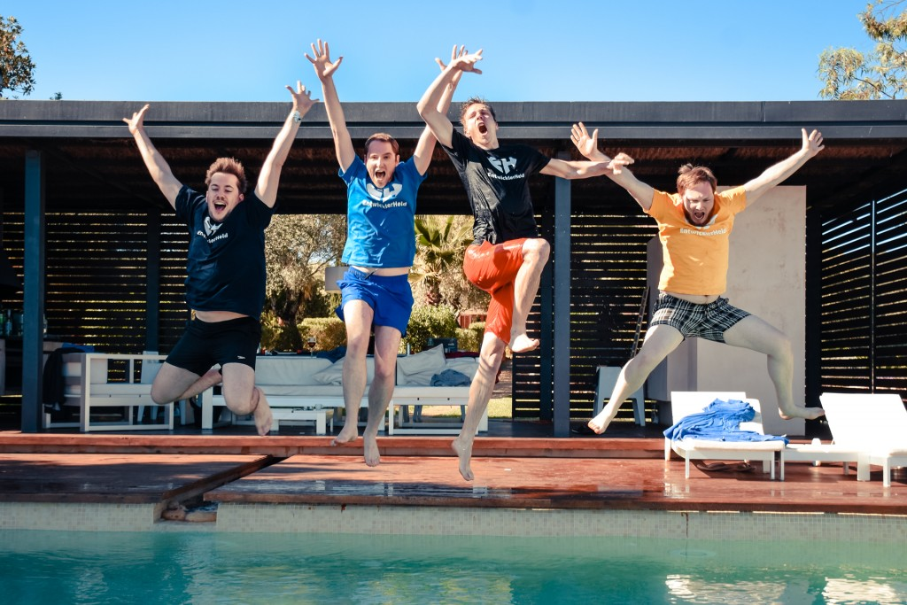 EntwicklerHeld Team Jump
