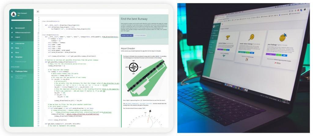 Screenshot Plattform EntwicklerHeld