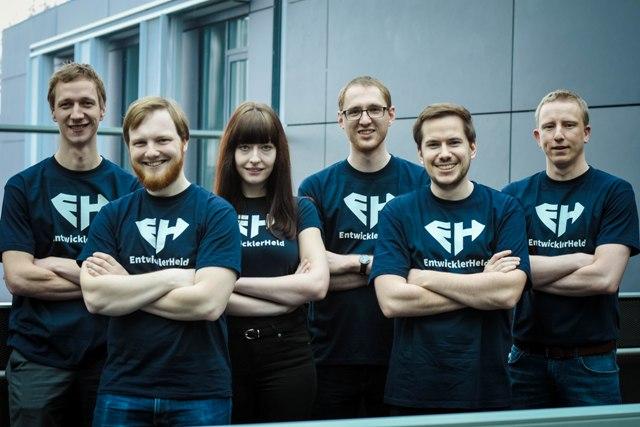 Gründerteam EntwicklerHeld