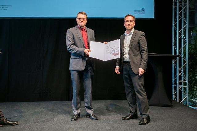 Gründerwettbewerb - Hauptpreis für eerox