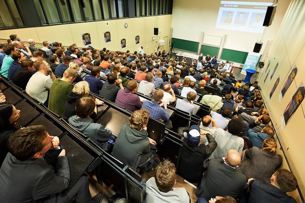 Full house - Mehr als 300 Besucher kamen zum Gründerfoyer #47. (Foto: Robert Gebler)