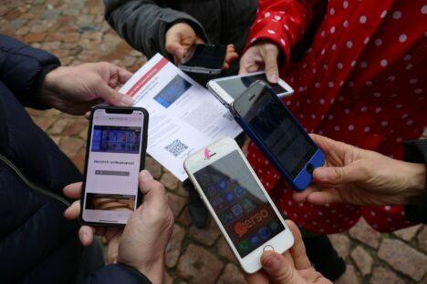 Handys mit Verso-App