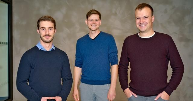Derma-Purge-Team: Max Schnepf, Felix Klee und Jonas Schubert