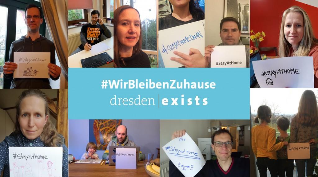 #WirBleibenZuhause