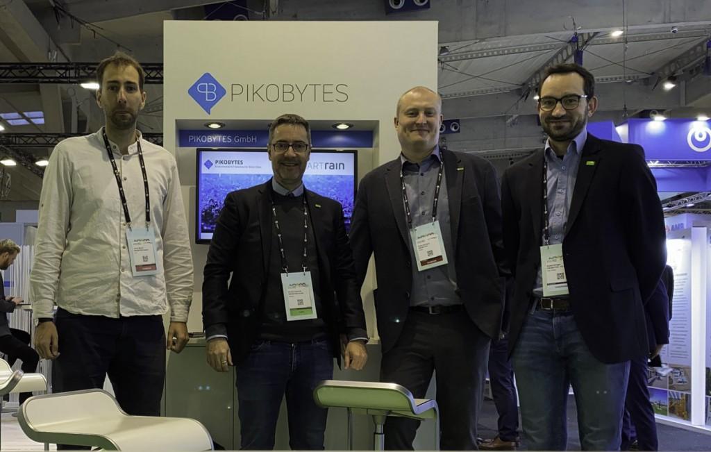 Gemeinsam mit der Professur für Geoinformatik der TU Dresden und Elco Industry Automation hat PIKOBYTES im Projekt Smart Rain ein Niederschlagsmessnetz in Dresden aufgebaut. (Foto: Norbert Schmidt)