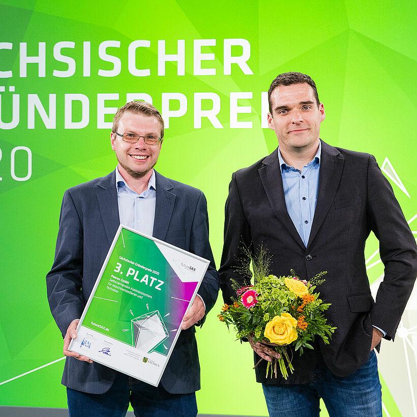 Gründerteam Peerox GmbH