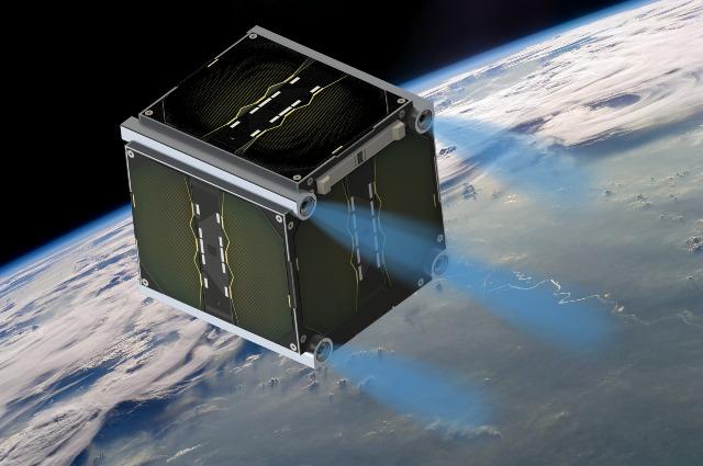 """Nano-Satellite """"UWE-4"""" der Universität Würzburg (Foto: Universität Würzburg)"""