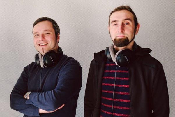 die zwei Gründer des Startupsrn